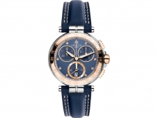 Michel Herbelin Newport Lady-Chronograph Blau