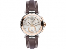 Michel Herbelin Newport Lady-Chronograph Braun