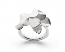 bastian inverun Fairytale Leaf Ring 925/- Sterlingsilber
