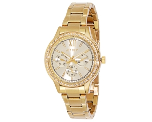 JET SET Watches Swag Gelbgold Damenarmbanduhr