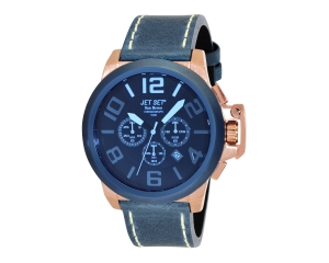 JET SET Watches San Remo Herrenchronograph blau